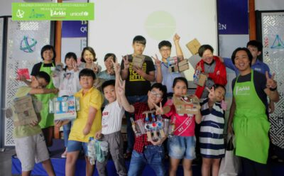 Over 100 children and adolescents in Ho Chi Minh City participate in a product design programme to innovate planet-friendly products