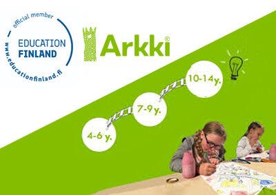 Education Finland Programme membership to Arkki