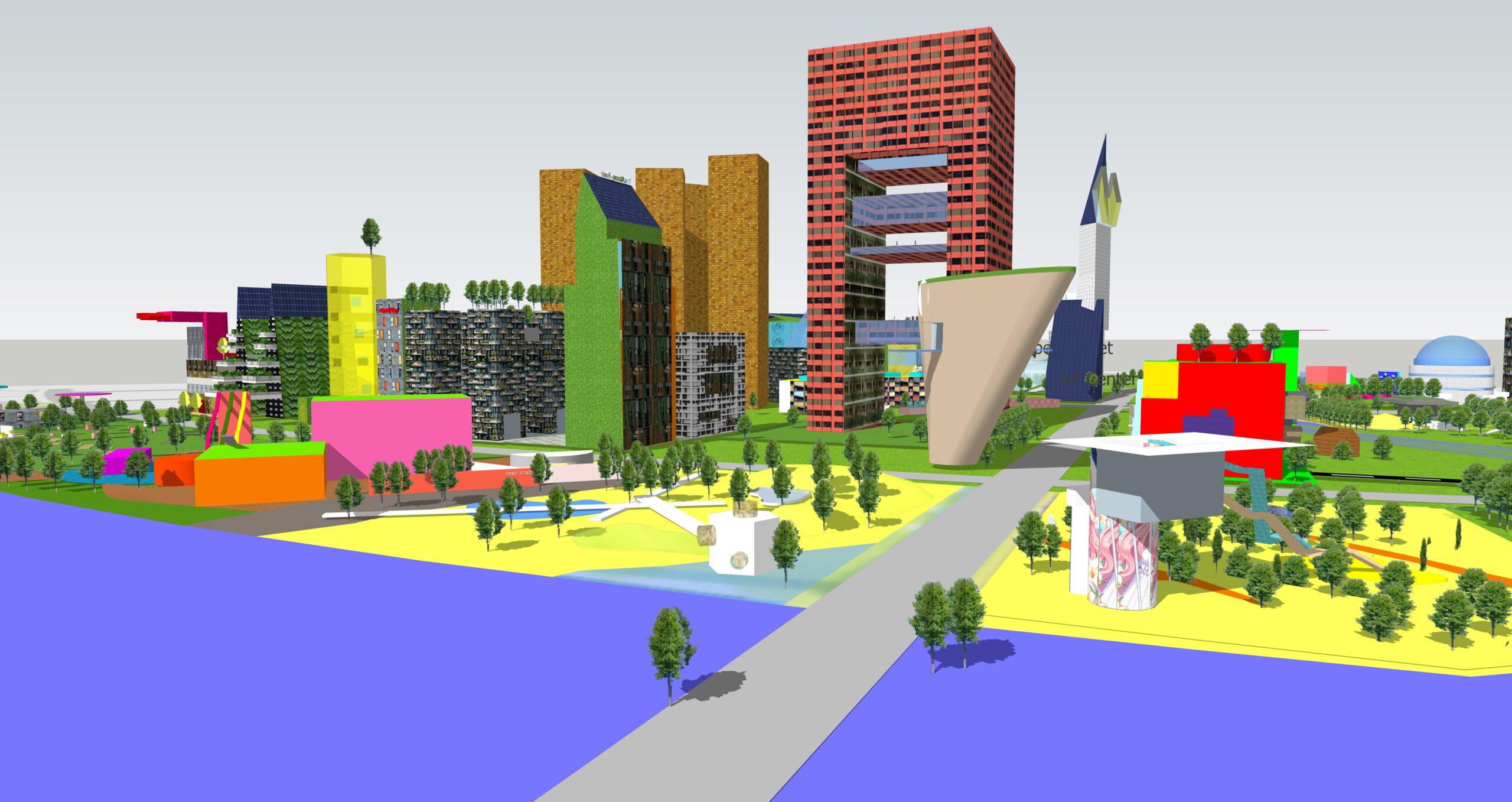 Urban Design 3D AR theme course