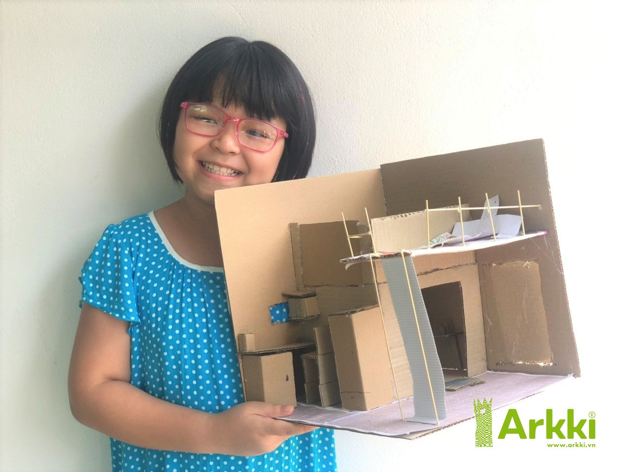 During lock down arkki@home free projects are inspiring children from around the world to ideate the future of cities and homes.