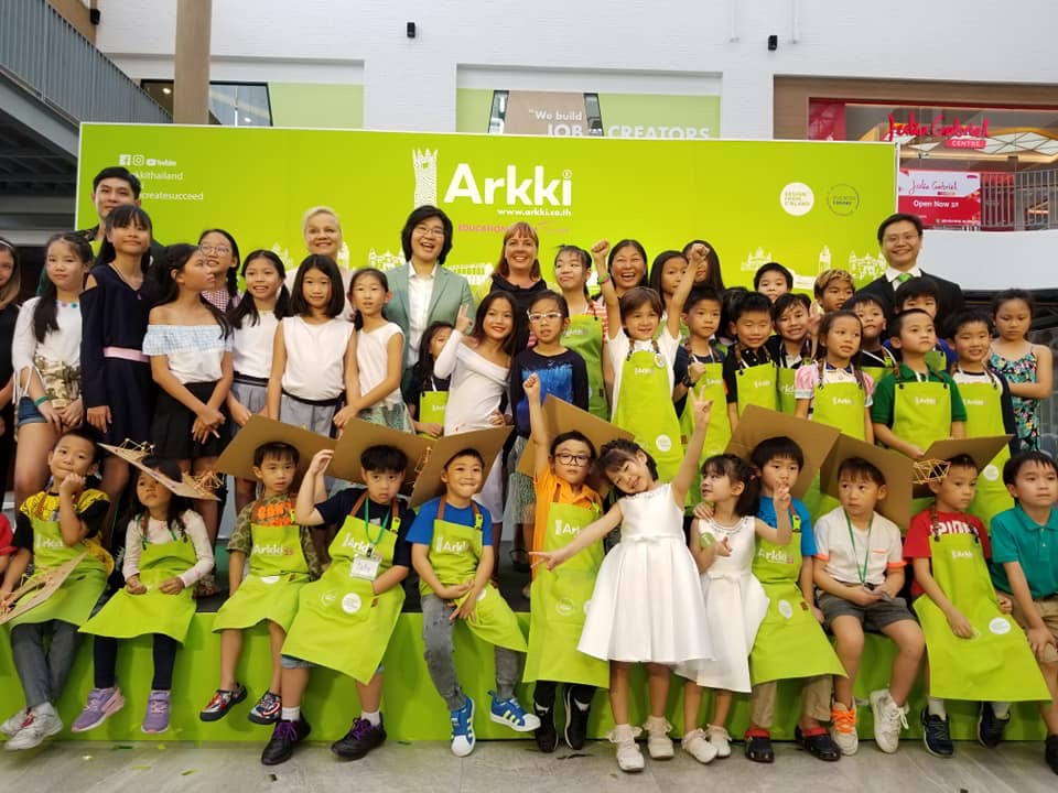 Learning HOW to learn the Finnish way in Bangkok. Arkki Thailand's first anniversary
