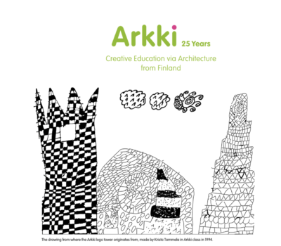 arkki 25 years first page